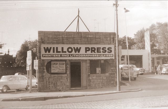 Willow's really old building