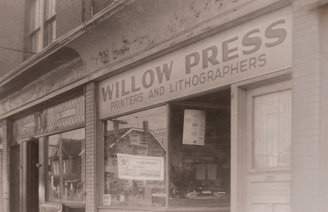 Willow's old building