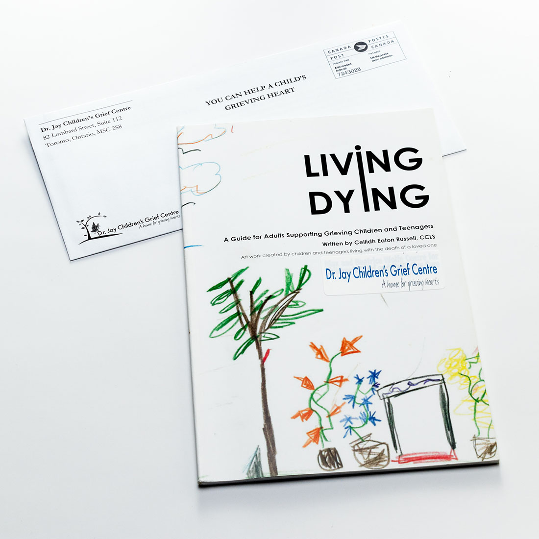 Living Dying print sample